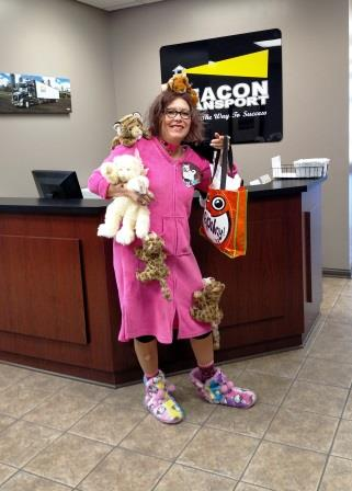 Costume Contest Winner - Cindy Puhalla