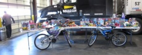 Beacon Transport Logistics Company Charity Toy Drive