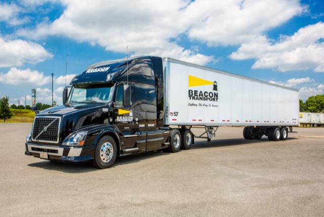 Beacon Transport Truck Driving