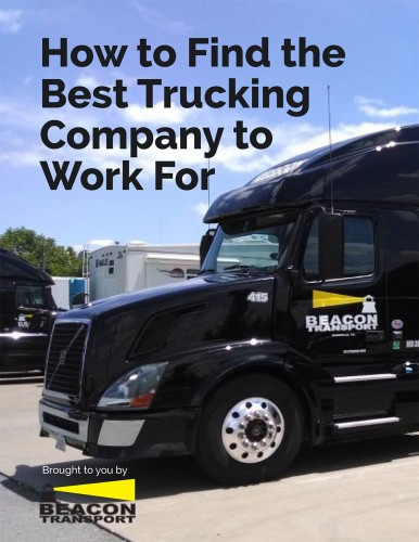 How to Find the Best Trucking Company to Work For