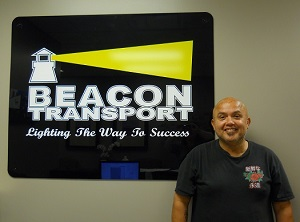 Alonzo, Alberto has been chosen truck driver of the month for Tennessee based trucking company, Beacon Transport. Become a Driver Nashville TN