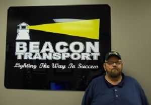 Keith, Shawn has been chosen truck driver of the month for Tennessee based trucking company, Beacon Transport. Become a Driver Nashville TN