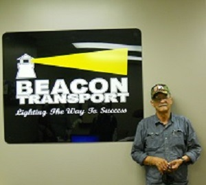 Richard Drake has been chosen truck driver of the month for Tennessee based trucking company, Beacon Transport